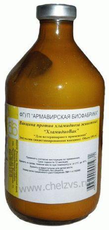 Вакцина против хламидиоза