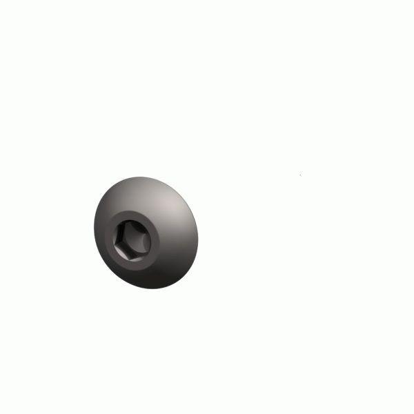 0019-1694-300 Винт с полупотайной головкой M5x25 SSt (на схеме позиция № 60)