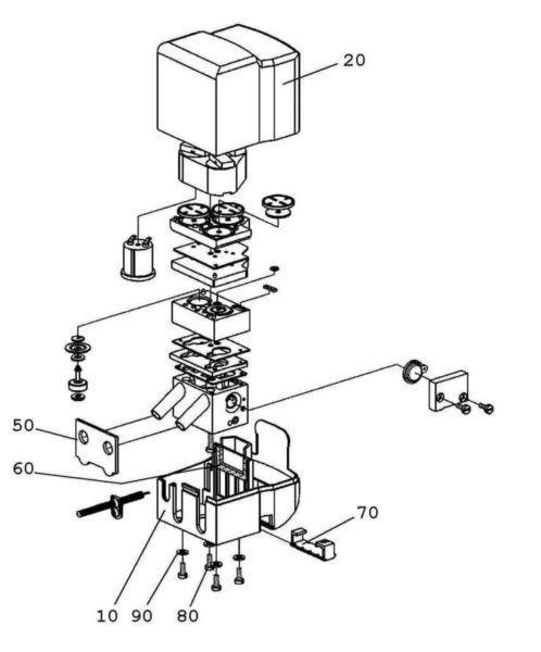 7051-2950-190 Пульсатор StimoPuls Apex M (схема)