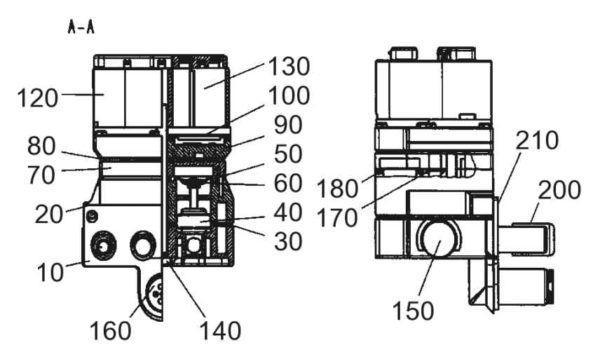 7039-2780-000 Управляющий клапан в комлп. DT, 3x Apex
