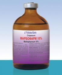 Марбофарм 10%