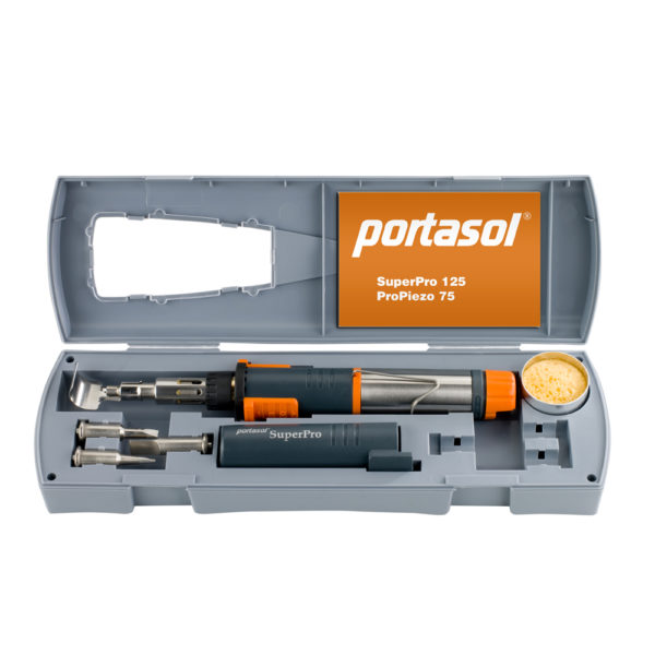 Беспроводной газовый паяльник Portasol ProPiezo 75